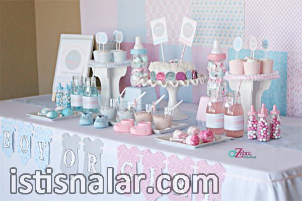 baby shower pastası, baby shower partisi için pasta seçimi, baby shower partisinde pasta nasıl olmalı